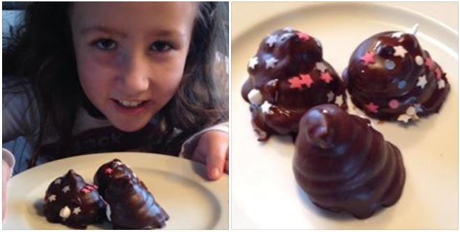 Hjemmelavet slik. Konfekt, slik og chokolade. Lav selv slik med dine børn. Klik her