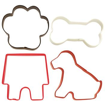 Wilton Cookie Cutter Pet Theme - Hundeudstikkersæt