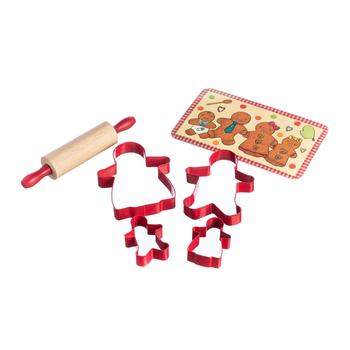 Mason cash gingerbread family set