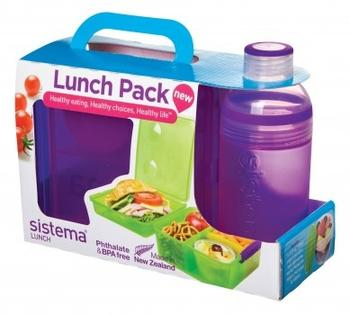 Sistema lunch box purple