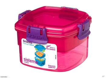 Sistema lunch snacks 400 ml