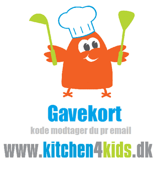 Gavekort til Kitchen4kids