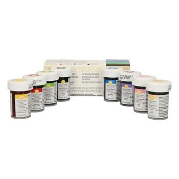 Wilton pastafarvesæt 8 farver