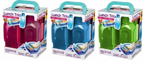 Sistema Lunch trio pack