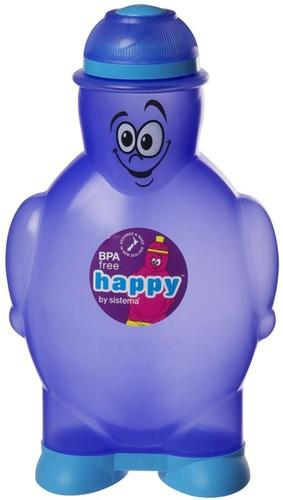 Sistema Happy Bottle drikkeflaske 350 ml lilla