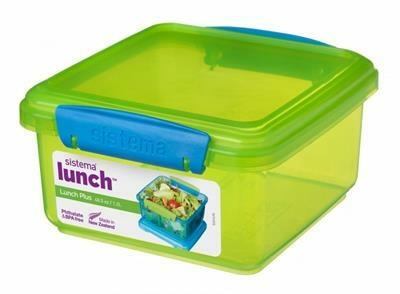 Sistema Itsy Bitsy Lunch plus 1,2L - lime