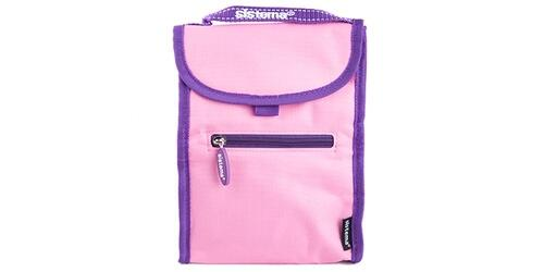 Sistema small fold up lunch coolers  pink