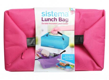 Sistema Lunch Bag TO GO™ Pink