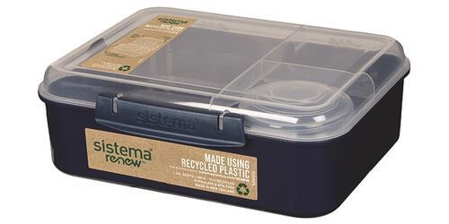 Sistema Renew Bento Lunch 1,65 L - Navy