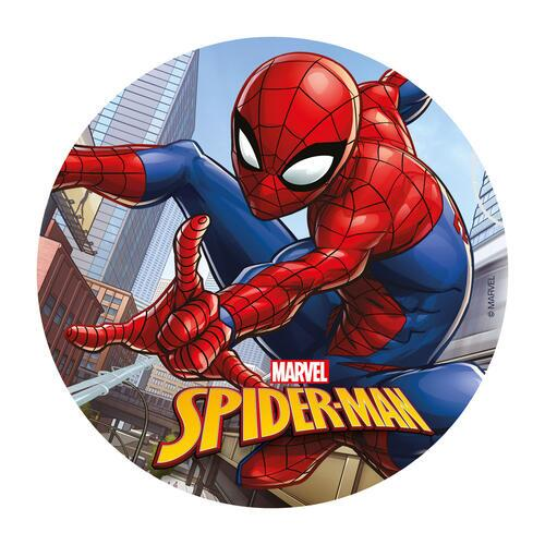 Spiderman vaffelprint