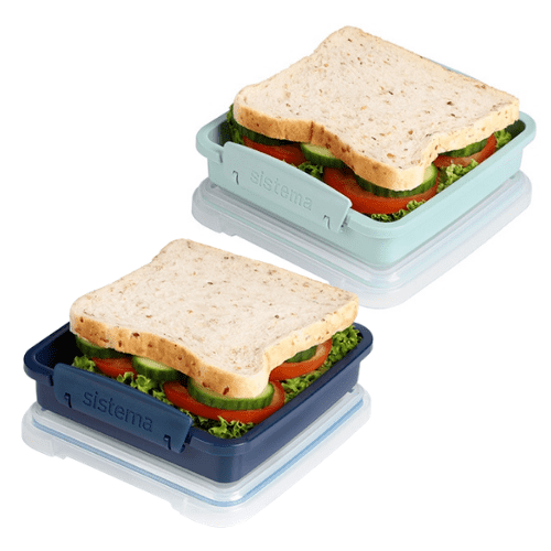 Sistema Renew Sandwich Box, 450 ml