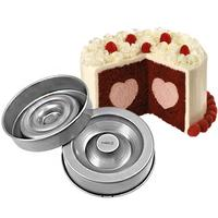 Wilton Heart Tasty-Fill Cake Pan Set