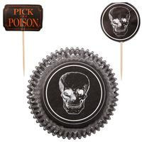 Pick your poison muffinforme og pynt
