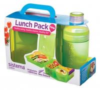 Lunch Cube Max and Bottle Lunch Pack- grøn