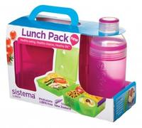 Lunch Cube Max and Bottle Lunch Pack - pink