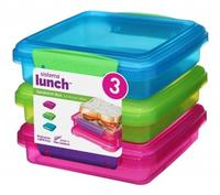 Sistema lunch boxe, 3 stk.