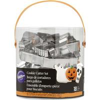 Halloween wilton cookie cutter set i spand