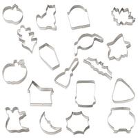 Wilton Halloween cookie cutter set i spand 2