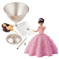 Barbie bageform - wilton wonder mold kit